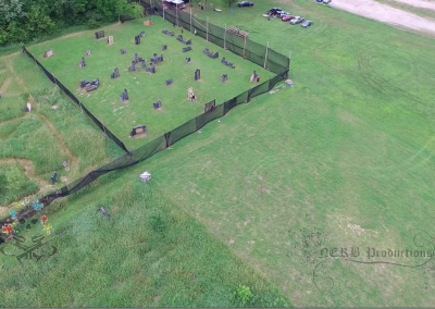Action Valley Paintball Field Overhead