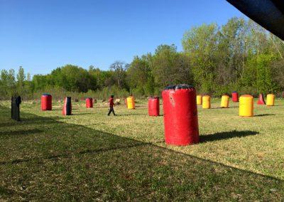 Action Valley Paintball Field Speedball